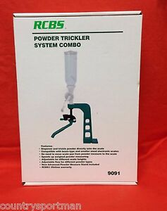 RCBS Powder Trickler System Combo #9091
