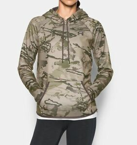 Under Armour UA Women's Icon Hunting Hoodie Ridge Reaper Camo 1286056-900