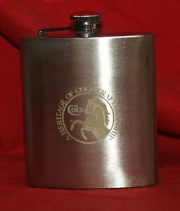 COLT Firearms Stainless Steel Flask