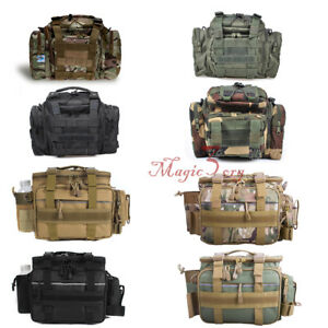 Fishing Tackle Bag Waist Shoulder Lure Box Tactical Pack WaterResistant Hunting