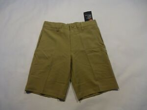 NEW Boys Youth Under Armour Golf Shorts tan brown size boys 6
