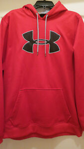 Under Armour RED Cold Gear Camo Hoodie --Men's XL