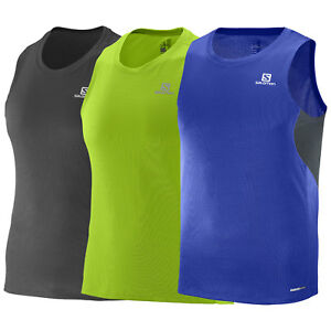 Salomon Agile Tank M men's running shirt top breathable sports sleeveless