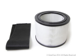 New HEPA Filter amp; Charcoal Filter for the Filter Queen Defender Air Purifier cle