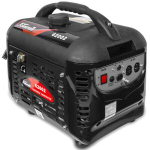2000W WATTS GAS PORTABLE GENERATOR QUIET RV HOME CAMPING 4-STROKE WITH HANDLE