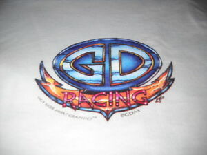 GRATEFUL DEAD 1995 SPORTS CAR RACING SKELETON STEAL YOUR FACE CONCERT T-SHIRT-XL
