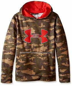 Under Armour Youth Storm Caliber Hoodie Deer Hide X-LG 1265756-264-XL