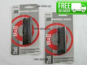 2 PACK Savage Stevens Lakefield Model 62 64 954 22LR 10 Round MAGAZINE 30005