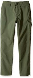Under Armour Boys' Match Play Flat Front 3 Pocket Golf Pants Downtown Green - XL