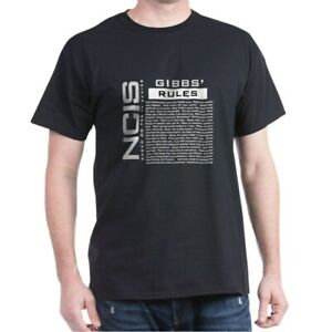 CafePress NCIS Gibbs Rules T Shirt 100% Cotton T Shirt 1145201854