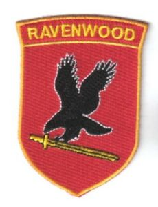 Jericho TV Series Ravenwood Security Logo Embroidered Chest Patch NEW UNUSED