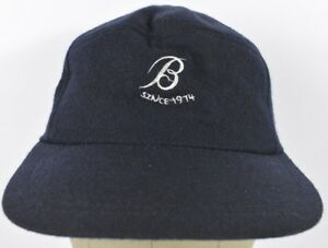 Navy Blue Letter Initial B Since 1914 Baseball Hat Cap Adjustable Snapback