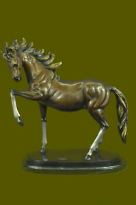 Large Numbered LTD Edition Horse Mare Collector Trophy Bronze Sculpture Figurine $449.00