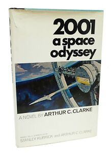 2001 A Space Odyssey ~ First Edition ~ Arthur C Clarke ~ First Printing 1968