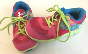 UNDER ARMOUR Girls size INFANT 8 SHOES