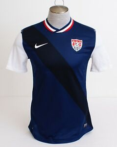 Nike Dri Fit Blue USA National Soccer Team Short Sleeve Jersey US Soccer Men's