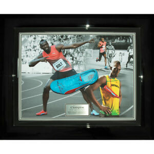 Signed Usain Bolt Worn Used 2016 Running Spike - Olympic and World Champion