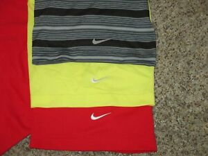 LOT 4 NIKE DRI-FIT TOUR PERFORMANCE POLO GOLF SHIRTS SZ XXL 2XL