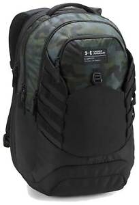 Under Armour Hudson Backpack - Woodland Camo  Black  Artillery Green - New