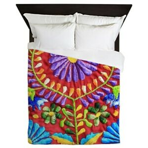 CafePress Mexican Embroidery Queen Duvet (1656194294)