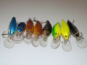 Bagley's DB3 Lot of Eight Lures Crankbait