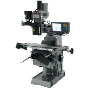 JET Mill With 3-Axis ACU-RITE G-2 MILLPOWER CNC JTM-949EVS230 - Free Shipping