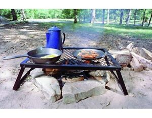Texsport Heavy Duty Over Fire Camp Grill Camping Grill Grate Cooking Gear