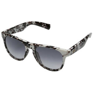 Under Armour Sierra Shiny White Marble Sunglasses Gradient Lens 8600059 109806