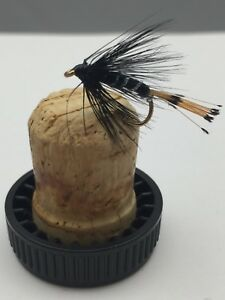 Fly Fishing PRIME COLLECTION Black Pennel Wet Fly pack Size 14 pack of 12