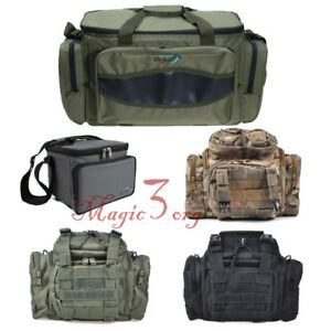 Fishing Tackle Bag Waterproof Shoulder Storage Pack Waist Lure Strap Handbag