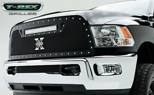 Fits 13-18 Ram 2500 1p Upper Insert Torch Series LED T-Rex Grille 6314521
