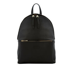 Furla Women's Giudecca Black Leather Small Backpack