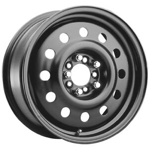 Pacer Black Modular 83B 16x6.5 4x1004x114.3 (4x4.5) +41mm Black Wheels Rims