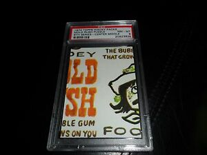 1974 Topps Wacky Packages Mold Rush Puzzle Center Middle 6th Ser.  PSA 8 NM MINT