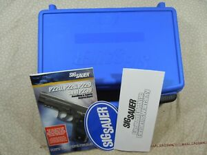 SIG SAUER  MODEL P229 FACTORY HARD CASE WITH MANUAL - 64762.