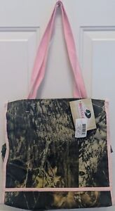 Mossy Oak Camo Pink Diaper Bag Tote - Camouflage Baby