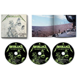 Metallica And Justice For All New CD Rmst $22.39
