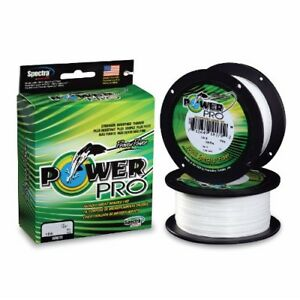 Power Pro Spectra Braided Fishing Line 100 lb Test 1500 Yards White 100lb