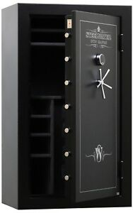New and Improved Steelwater Gun Safe 45 Long Gun Safe LD724228-EMP 1 Hour 1875F