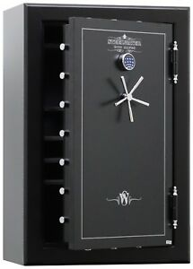 New and Improved Steelwater Gun Safe 39 Long Gun Safe HD593924-EMP 2 Hour1875F