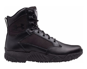 Under Armour 1289001 Men's Stellar Tac 2E WIDE Black Police Duty Tactical Boots~