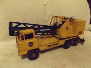 VINTAGE1950's NYLINT--MICHIGAN CRANE--T-24 CLARK EQUIPMENT CONSTRUCTION