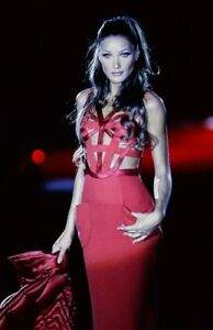 Gianni Versace Cutout Fall1992 red Bandage Gown