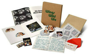 Paul McCartney amp; Wings Wild Life New CD With DVD Boxed Set $122.86