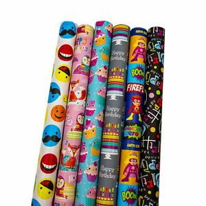 The Gift Wrap Company Wrapping Paper 6 Piece