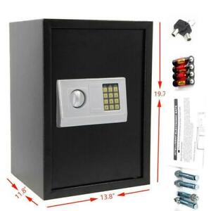 Digital Electronic Safe Box Large Security Home Office Hotel Gun Keypad Lock $73.99