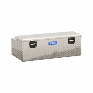 UWS EC20501 Secure Lock Under Tonneau Tool Box (48 Inch-Bright Aluminum) -Dam...