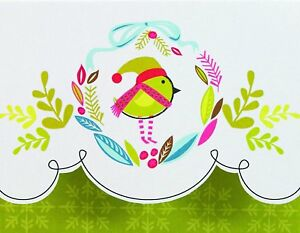 The Gift Wrap Company 79835 Christmas Cards Tweet Wreath $11.99