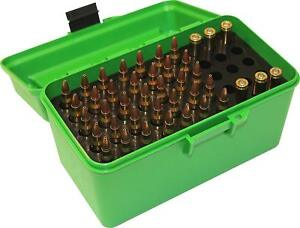 9mm Ammo Holder Case 223 556 22 38 45 308 7.62 357 Box Crate Storage Pouch NEW