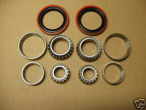 89 90 91 92 93 MUSTANG FRONT WHEEL BEARING BEARINGS KIT = 4 CYLINDER ONLY  !!!!!